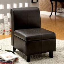 <strong>Hokku Designs</strong> Jordan Leatherette Slipper Chair