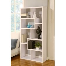 Masima Unique Bookcase / Display Cabinet in White