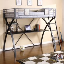<strong>Hokku Designs</strong> Hayden Twin Loft Bed with Workstation