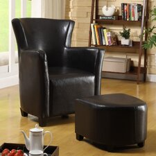 <strong>Hokku Designs</strong> Haven Chair and Ottoman