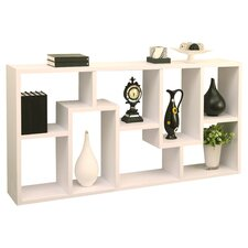 "Mindy 71"" Unique Bookcase"