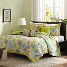 Tahiti 6 Piece Coverlet Set