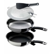 "Ultimate Frying System 11"" Skillet Set"