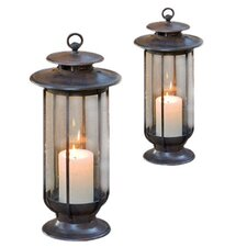 Case Iron Lantern (Set of 2)