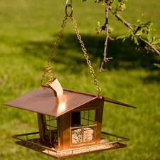 Wacky Bird House Feeder
