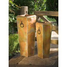 Santa Fe Square Planter (Set of 2)