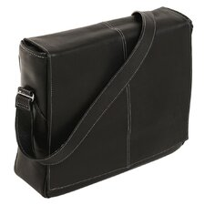 San Francesco Leather Messenger Bag