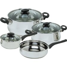 Deliss Stainless Steel 7-Piece Cookware Set