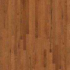 """Golden Opportunity 2-1/4"""" Solid Red Oak Flooring in Gunstock"""