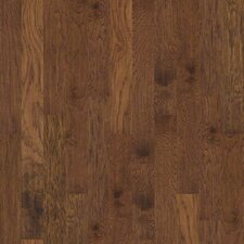 """Chisholm Trail 5"""" Engineered Hickory Flooring in Smokehouse"""