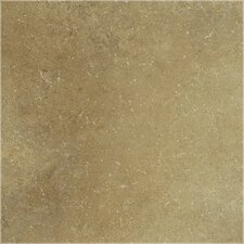 "<strong>Shaw Floors</strong> Brushstone 18"" x 18"" Porcelain Tile in Camel"