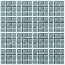 "<strong>Shaw Floors</strong> Glass Essentials 12"" x 12"" Squares Accent Tile in Waterline"