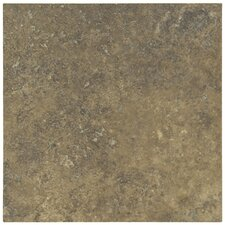 "Lunar 18"" x 18"" Porcelain Tile in Walnut"