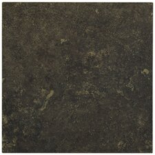 "Lunar 12"" x 12"" Porcelain Tile in Graphite"