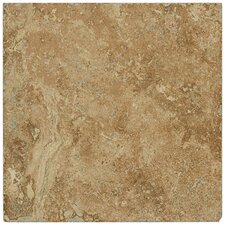 "Piazza 6.5"" x 6.5"" Ceramic Tile in Cotto"