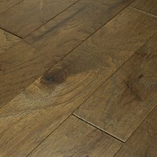 "Brushed Suede 5"" Engineered Hickory Flooring in Olive Branch"
