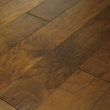 "<strong>Shaw Floors</strong> Brushed Suede 5"" Engineered Hickory Flooring in Sugarcane"