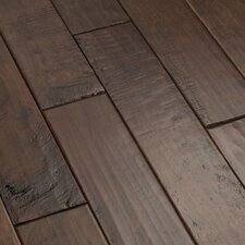 "<strong>Shaw Floors</strong> Whistler 5"" Engineered Hardwood Birch Flooring in Lodge"