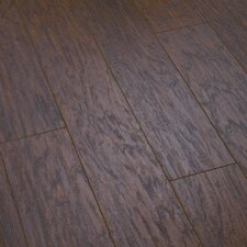 <strong>Shaw Floors</strong> Heron Bay 8mm Hickory Laminate in Raven Rock