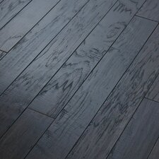 "Epic Pebble Hill 3-1/4"" Engineered Hickory Flooring in Weathered Saddle"