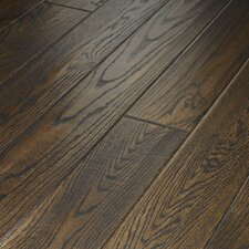 "Montgomery 5"" Solid Red Oak Flooring in Roan Brown"