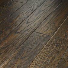 """Montgomery 5"""" Solid Red Oak Flooring in Roan Brown"""
