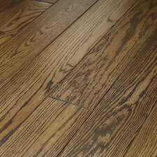 "Montgomery 5"" Solid Red Oak Flooring in Palomino"