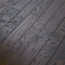 "Epic Pebble Hill 3-1/4"" Engineered Hickory Flooring in Burnt Barnboard"