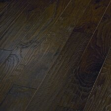 "World Tour 5"" Engineered Handscraped Hickory Flooring in River"