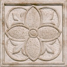 "<strong>Shaw Floors</strong> Corinthian 2"" x 2"" Insert Tile Accent in Sandstone"