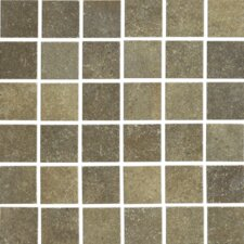 "Brushstone 12"" x 12"" Mosaic Tile Accent in Mohave"