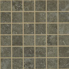 "<strong>Shaw Floors</strong> Lunar 12"" x 12"" Mosaic Tile Accent in Noce"