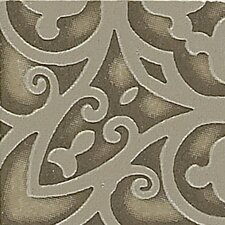 "<strong>Shaw Floors</strong> Lunar Listello Corner 2"" x 2"" Tile Accent in Walnut"