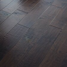 "Autumn Ridge 5"" Engineered Handscraped Maple Flooring in Chickory"
