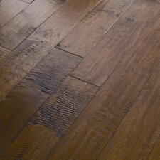 "<strong>Shaw Floors</strong> Autumn Ridge 5"" Engineered Handscraped Maple Flooring in Covered Bridge"