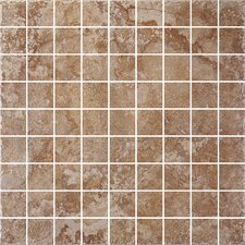 "<strong>Shaw Floors</strong> Capri 12"" x 12"" Mosaic Accent Tile in Bronze"