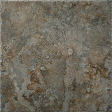 "Capri 18"" x 18"" Floor Tile in Flora"