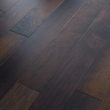 "Grandin Road 5"" Engineered Distressed Walnut Flooring in Sawyer Point Walnut"