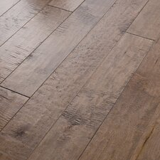 "<strong>Shaw Floors</strong> Autumn Ridge 5"" Engineered Handscraped Maple Flooring in Oat Straw"