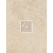 "Padova 13"" x 10"" Decorative Wall Tile in Beige"
