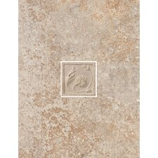 "Padova 13"" x 10"" Decorative Wall Tile in Brown"