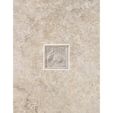 "Padova 13"" x 10"" Decorative Wall Tile in Gray"