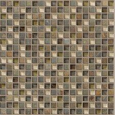 "Mixed Up 12"" x 12"" Mosaic Slate Accent Tile in Spring Valley"