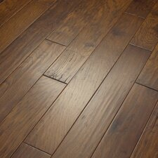 "Camden Hills 5"" Elegant Scraped Engineered Hickory Flooring in Western Sky"