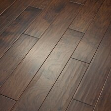 "Camden Hills 5"" Elegant Scraped Engineered Hickory Flooring in Lasso"