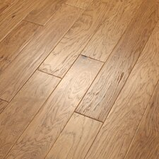 "Camden Hills 5"" Elegant Scraped Engineered Hickory Flooring in Rawhide"