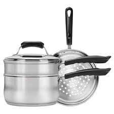 <strong>Range Kleen</strong> Stainless Steel 4-Piece Cookware Set