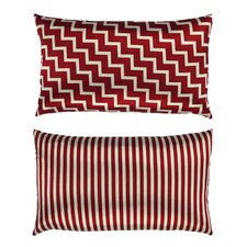 Stairs and Stripes Zig Zag Chevron Throw Pillow