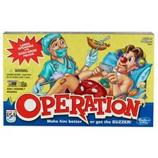 <strong>Hasbro</strong> Operation Game with Easy Grab Pieces