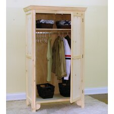 Country Panel Door Armoire